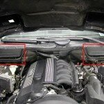 BMW E39 Cabin Air Filter Installation
